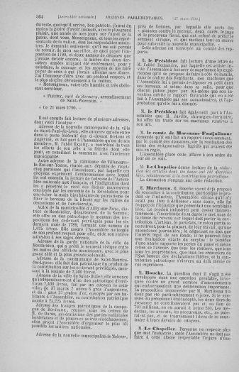 Tome 12 : Du 2 mars au 14 avril 1790 - page 364