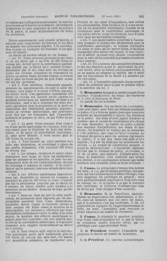 Tome 12 : Du 2 mars au 14 avril 1790 - page 365