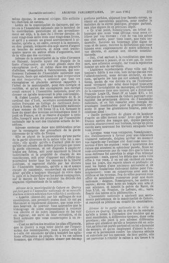 Tome 12 : Du 2 mars au 14 avril 1790 - page 375