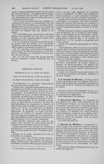 Tome 12 : Du 2 mars au 14 avril 1790 - page 440