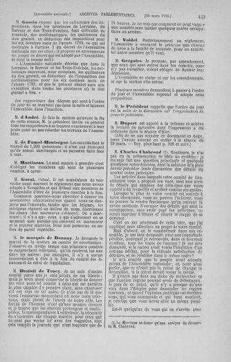 Tome 12 : Du 2 mars au 14 avril 1790 - page 443