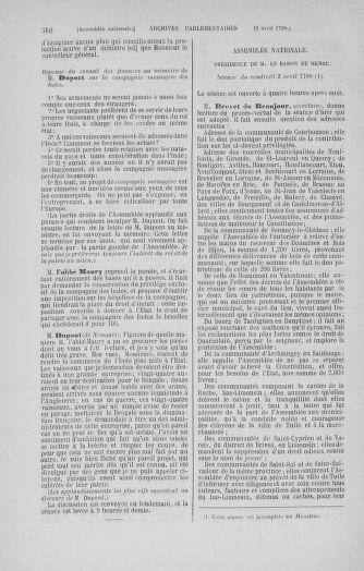 Tome 12 : Du 2 mars au 14 avril 1790 - page 516