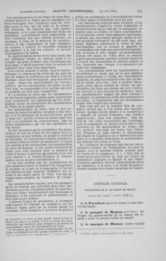 Tome 12 : Du 2 mars au 14 avril 1790 - page 541