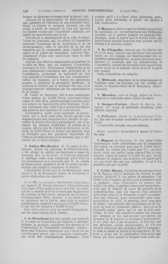 Tome 12 : Du 2 mars au 14 avril 1790 - page 542