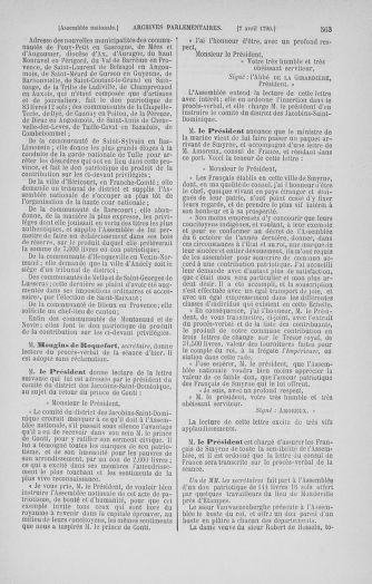 Tome 12 : Du 2 mars au 14 avril 1790 - page 563