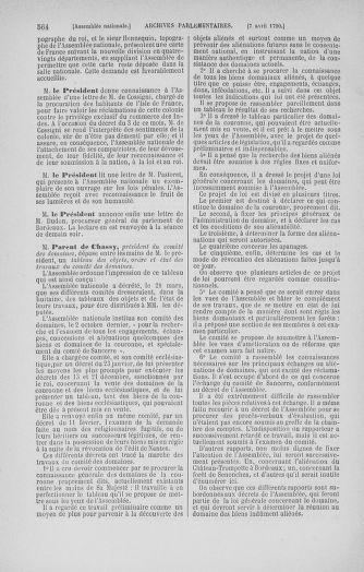 Tome 12 : Du 2 mars au 14 avril 1790 - page 564