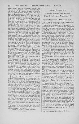 Tome 12 : Du 2 mars au 14 avril 1790 - page 580