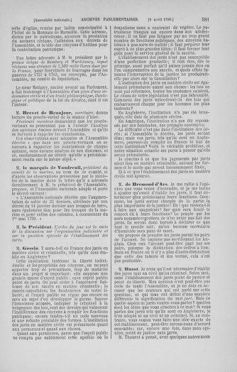 Tome 12 : Du 2 mars au 14 avril 1790 - page 581