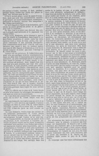 Tome 12 : Du 2 mars au 14 avril 1790 - page 589