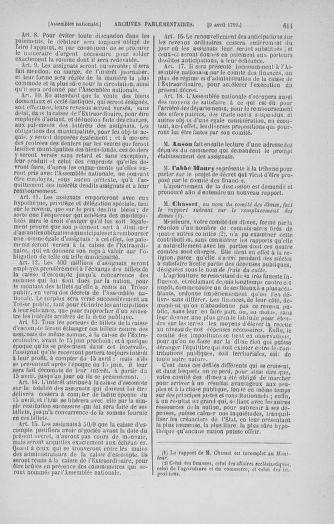 Tome 12 : Du 2 mars au 14 avril 1790 - page 611