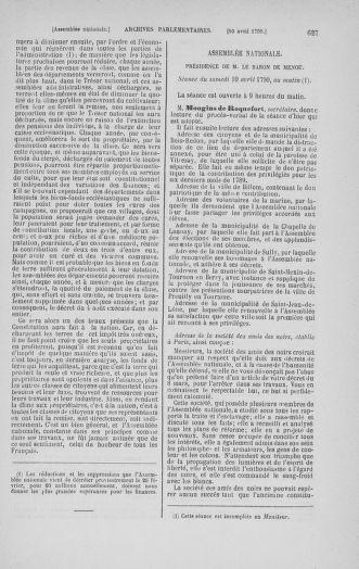 Tome 12 : Du 2 mars au 14 avril 1790 - page 627