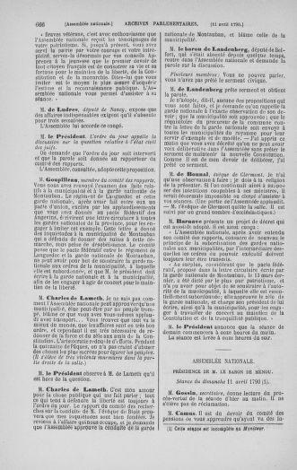 Tome 12 : Du 2 mars au 14 avril 1790 - page 666