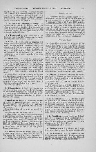 Tome 12 : Du 2 mars au 14 avril 1790 - page 667