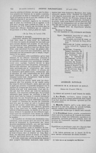 Tome 12 : Du 2 mars au 14 avril 1790 - page 710