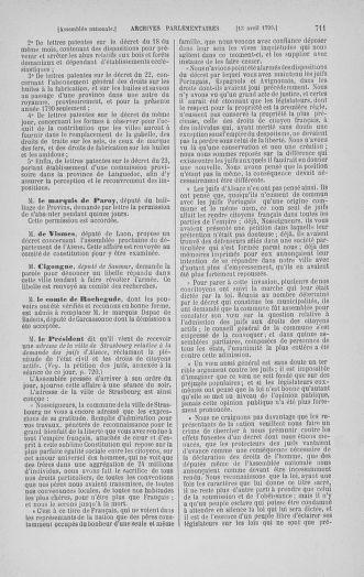 Tome 12 : Du 2 mars au 14 avril 1790 - page 711
