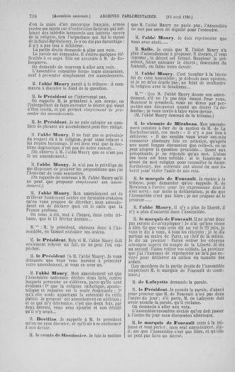 Tome 12 : Du 2 mars au 14 avril 1790 - page 718