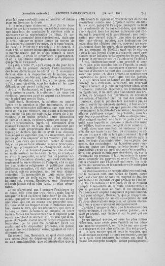 Tome 12 : Du 2 mars au 14 avril 1790 - page 741