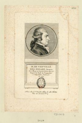 M. de Viefville des Essars avocat né à Malzy en Picardie le premier mars 1745 député du baill.e du Vermandois a l'Assemblée nationale de 1789 : [estampe]