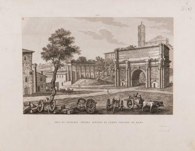 Arco di Settimio Severo e Clivio Capitolino