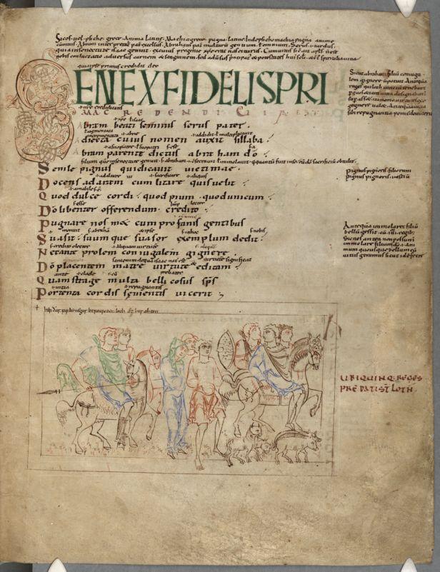 Cambridge, Corpus Christi College, MS 023: Anglo-Saxon Illustrated Prudentius. Orosius