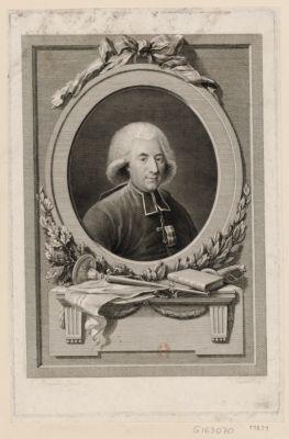 Claude Fauchet né à Dorn dépt de la Nièvre le 22 septembre 1744... : l'ami de la vérité, de la liberté des droits de l'homme et du citoyen : [estampe]