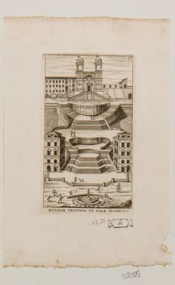 Piazza di Spagna, scalinata di Trinità dei Monti