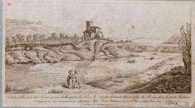 Ponte Milvio, veduta della campagna circostante