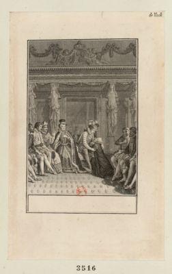 [Charles IX ] [acte III, scène 2] : [estampe]