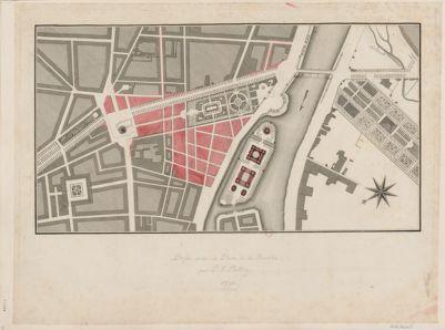 [Projet pour la Place de la Bastille par P.F. Palloy 1791] [estampe]