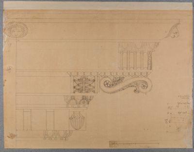 Tempio di Castore e Polluce, fregi architettonici