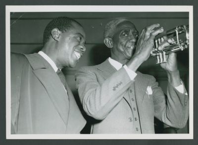Louis Armstrong and Bunk Johnson