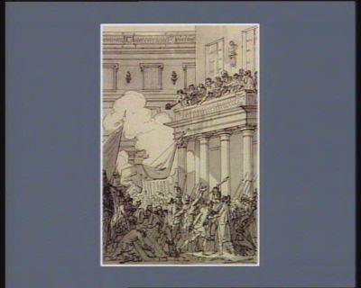[Evénement du six octobre <em>1789</em>] [dessin]