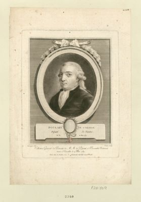 Poussin [i.e. Poulain de Corbion] député de Nantes, né le 10 mai 1737 : [estampe]