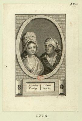 M. Carlota Corday J. Pablo Marat : [estampe]