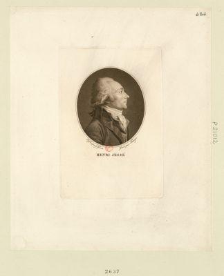 Henri Jessé deputé de Béziers à l'Assemblée nationale en 1789 élu président le 29 aoust <em>1790</em> : [estampe]