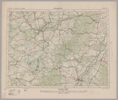 BROMLEY ATLAS MAP BALTIMORE COUNTY MARYLAND MOUNT AUBURN CEMETERY 1915 G.W