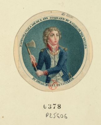 D'Agricola Viala agé de 11 ans, command. du bataillon des enfans du departement de Vaucluse [estampe]