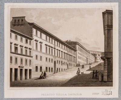 Palazzo della Dataria al Quirinale, veduta esterna