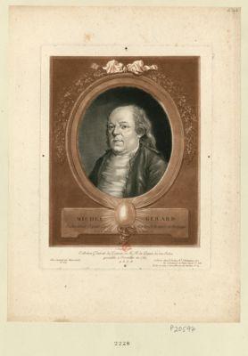 Michel Gérard cultivateur député de St Martin de Rennes en Bretagne, né à St Martin le 2 juillet 1737 : [estampe]