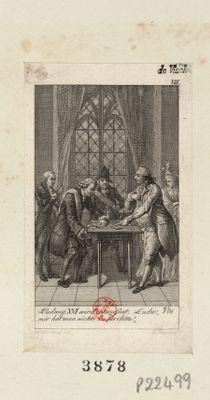 """Ludwig XVI wird entwatnet Ludw : """"Von mir hat man nichts zu türchten"""" : [estampe]"""