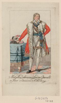Mitglied der ausübenden Gewalt in seiner ordinairen Kleidung [estampe]