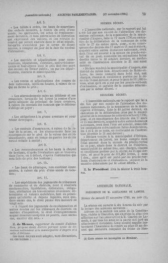 Tome 21 : Du 26 novembre 1790 au 2 janvier 1791 - page 73