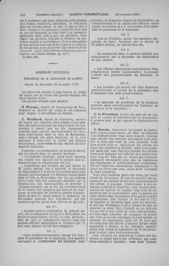 Tome 21 : Du 26 novembre 1790 au 2 janvier 1791 - page 110