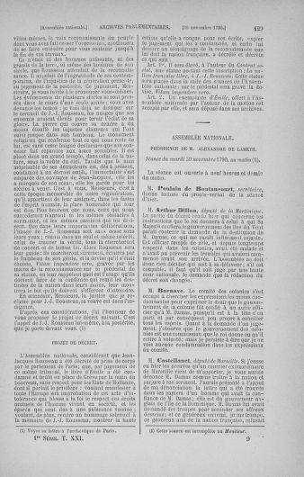 Tome 21 : Du 26 novembre 1790 au 2 janvier 1791 - page 129
