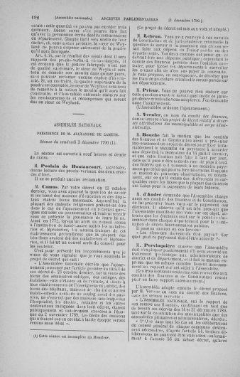 Tome 21 : Du 26 novembre 1790 au 2 janvier 1791 - page 192