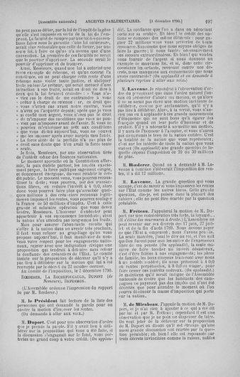 Tome 21 : Du 26 novembre 1790 au 2 janvier 1791 - page 197