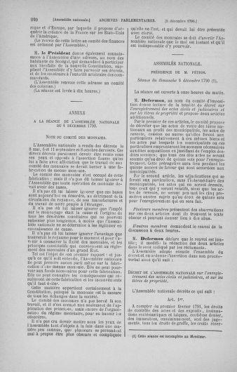 Tome 21 : Du 26 novembre 1790 au 2 janvier 1791 - page 220