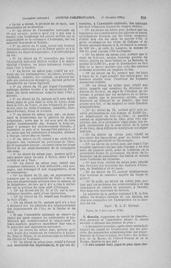 Tome 21 : Du 26 novembre 1790 au 2 janvier 1791 - page 251