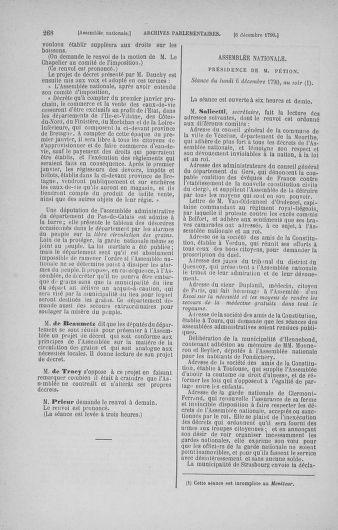 Tome 21 : Du 26 novembre 1790 au 2 janvier 1791 - page 268