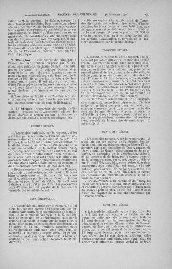 Tome 21 : Du 26 novembre 1790 au 2 janvier 1791 - page 269